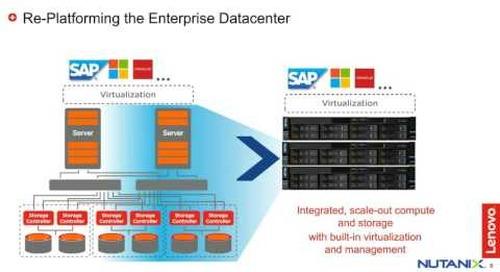 Lenovo & Nutanix Discuss HCI for SAP Landscape
