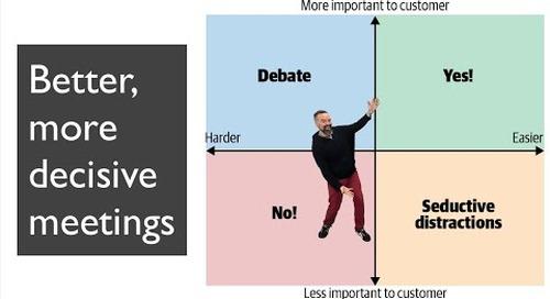Tanzu Talk: Better, more decisive meetings