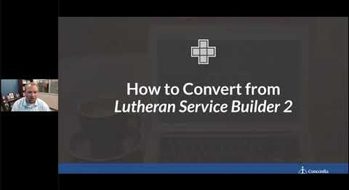 Introducing the new online Lutheran Service Builder 1