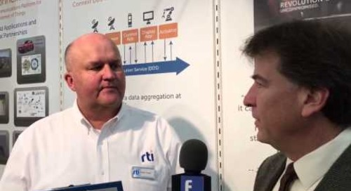 Embedded World 2016 Video: RTI continues connecting the Industrial Internet