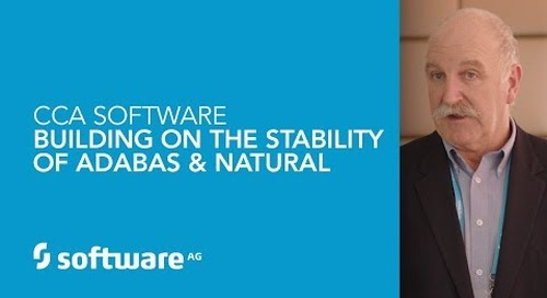 CCA Software: Building on the stability of Adabas & Natural