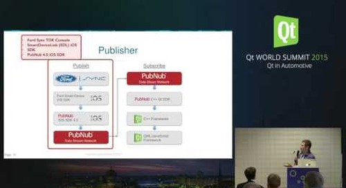 QtWS15 Secure, Realtime Connectivity for Connected Devices & IoT, Jonas Gray & Jordan Zucker, PubNub
