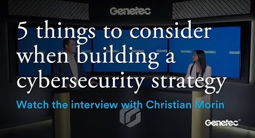 Cybersecurity Month - Interview with Christian Morin