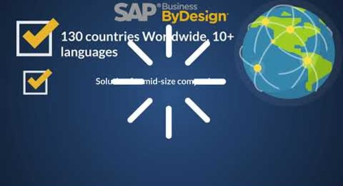Serving Up Cloud Solutions - Food & Beverage SAP Partner Package Solution