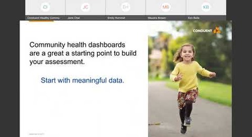 PART 1: Community Health Dashboards: Bringing your assessment and plan to life