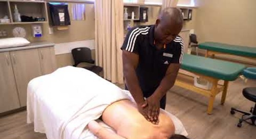 Smart Hands: Graduate scores with sports massage business