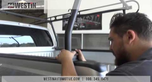 Installation of Westin HDX Overhead Truck Rack on Ford SuperDuty Short Bed (PN# 57-6035)
