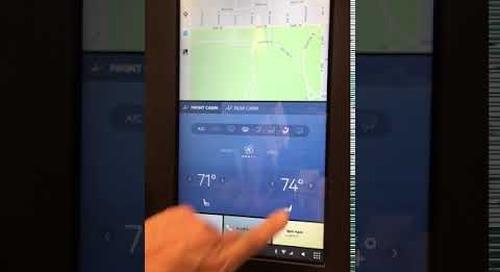 CES 2018:  Qualcomm UI/UX Transitions    Built with Qt