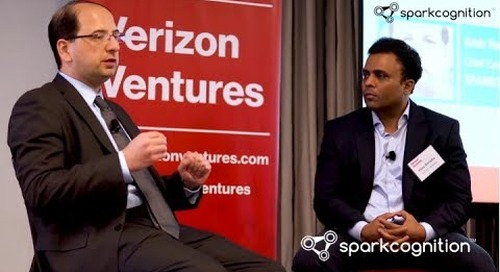 Artificial Intelligence - SparkCognition at the 2017 Verizon Venture Forum