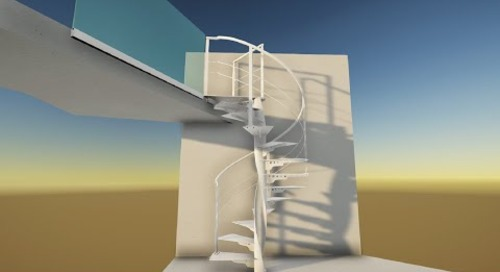 Tekla BIM Awards France 2020 : EURL PIERRE GUICHARD - Escalier buch