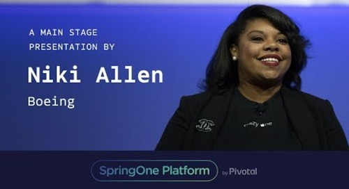 Niki Allen, Boeing at SpringOne Platform2017