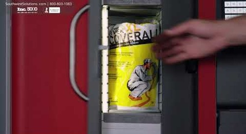 Automated Industrial Vending Machines for Dispensing Boxes & Packages