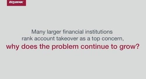 Top Fraud Challenges - Account Takeover
