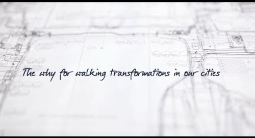 WEC 2019 - The why for walking transformations in our cities