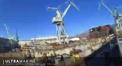 Timelapse: Ultramarine Under Construction