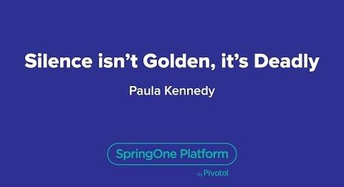 Silence isn't Golden, it's Deadly
