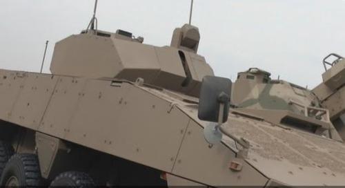 AAD 2016: Denel Badger Infantry Fighting Vehicle (IFV)
