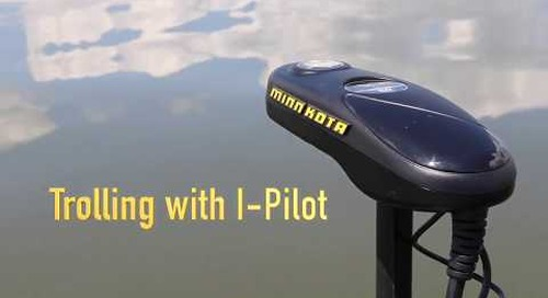 Trolling with Minnkota I - Pilot