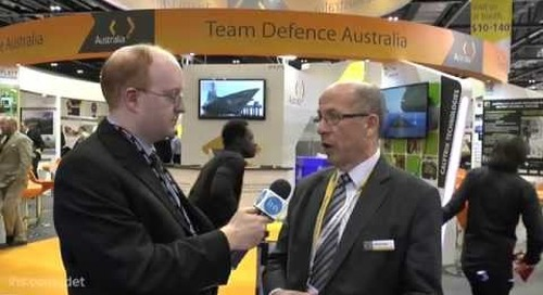 DSEI 2015: Warren King, Leader of Team Defence Australia talks to Charles Forrester of IHS Jane's