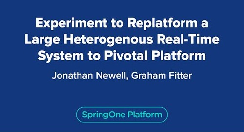 Experiment to Replatform a Large Heterogenous Real-Time System