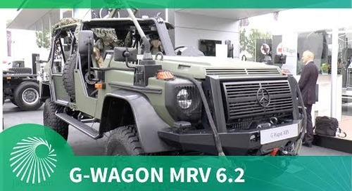Mercedes-Benz unveils G-Wagon MRV 6.2 multirole vehicle