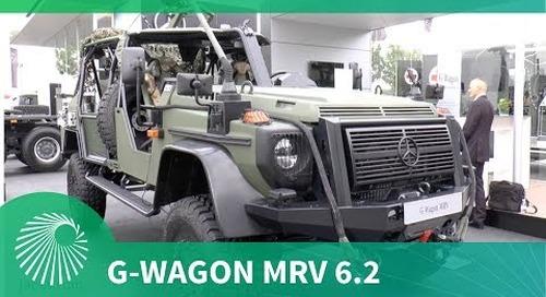Mercedes-Benz unveils G-Wagon MRV 6.2 multirole vehicle