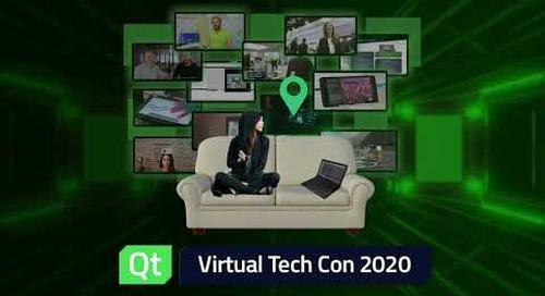 Qt Virtual Tech Con 2020 - Binge Watching Starts Tomorrow! Watch with friends.