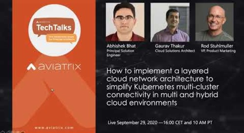 TechTalk   How to implement a layered cloud network architecture to simplify Kubernetes connectivity