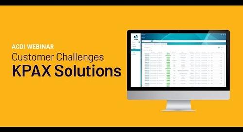 Customer Challenges | KPAX Solutions