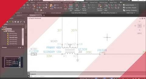 Work Faster with the Electrical toolset | AutoCAD