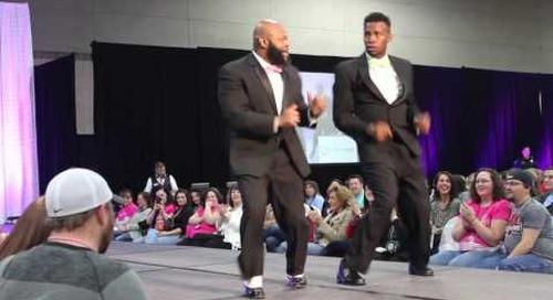 Models Dancing in Styles by Prestige Tuxedo
