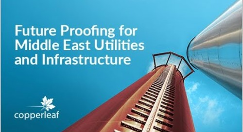 Webinar: Future Proofing for Middle East Utilities and Infrastructure