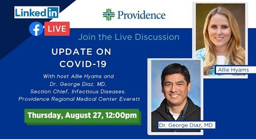Providence Update on COVID-19