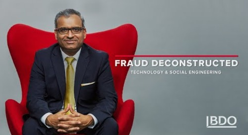 #FraudDeconstructed: Partner Chetan Sehgal on social engineering, a form of cyber fraud | BDO Canada