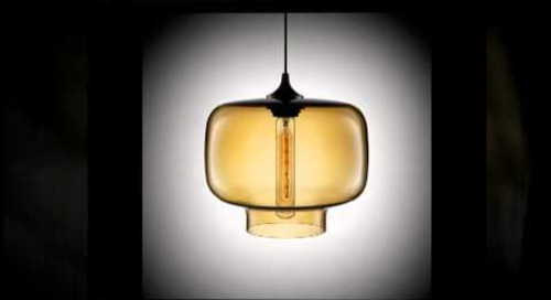 Niche Modern Oculo Pendant Glass Light