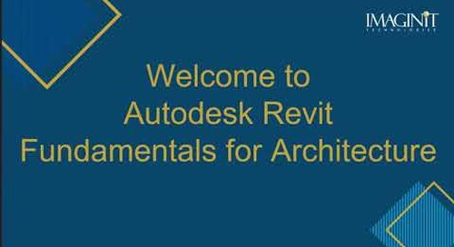 Revit Fundamentals for  Architecture