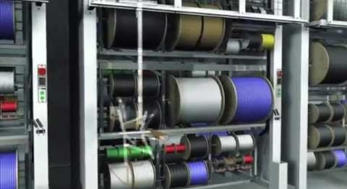 Vertical Wire Spool Carousels Storing Wire Reels Cable & Hose