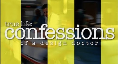 April 2018 TMD: Confessions of a Design Doctor