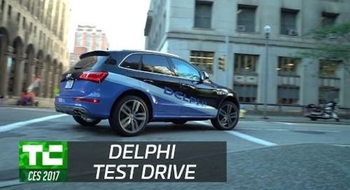 Taking a ride in Delphi's latest autonomous drive