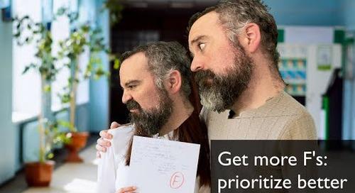 Tanzu Talk: Get more F's to prioritize better