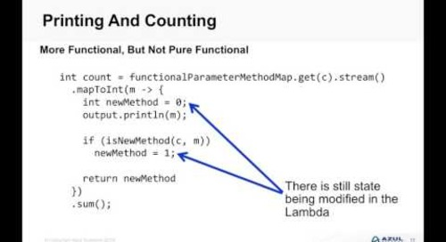 JDK 8: Lessons Learnt With Lambdas and Streams