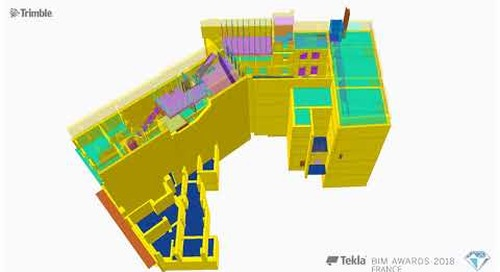 Tekla France BIM Awards 2018 - MD-CI : Weber