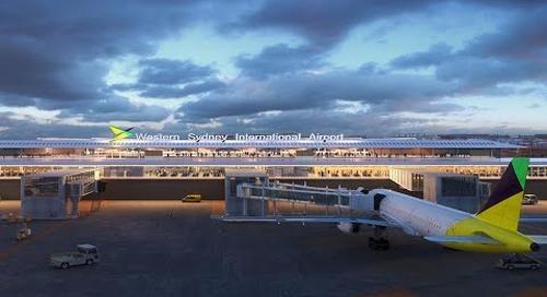Aurecon provides engineering design for Western Sydney International's terminal precinct
