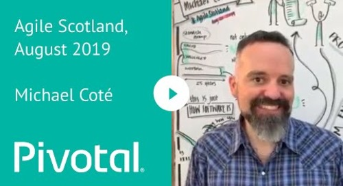 EMEA - Michael Coté @ Agile Scotland August 2019