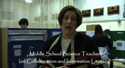 'Harrisburg Academy's Middle School Library Program