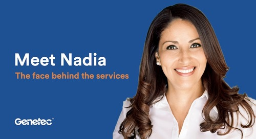 Meet Nadia - The Faces Behind the Services