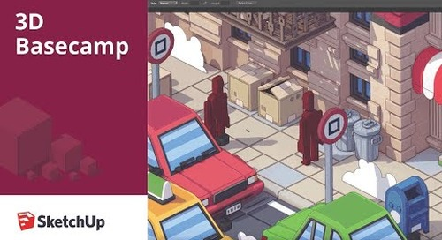 Low Poly Illustration – Rodrigo Cerci | 3D Basecamp 2018