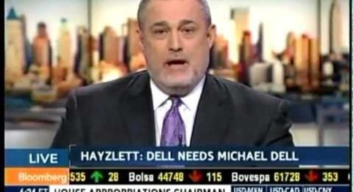 Jeffrey Hayzlett on Bloomberg West - Dell