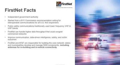 Webinar Laird Connectivity's FirstNet Solutions