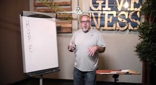 Disciple Me Session 6: The Gospel of H.O.P.E.